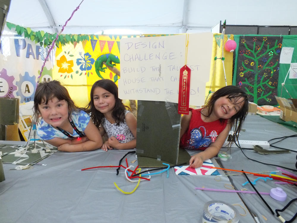 Best in Class Award at Maker Faire 1027